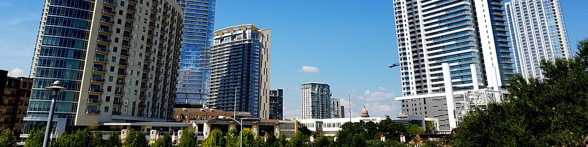 Austin skyline by Curtis Griffin